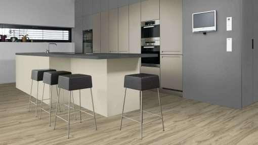 Cocina con suelo laminado Kaindl Roble Tortona 37663 (15)