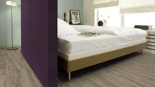 Dormitorio con suelo laminado Kaindl Roble Tortona 37663 (11)