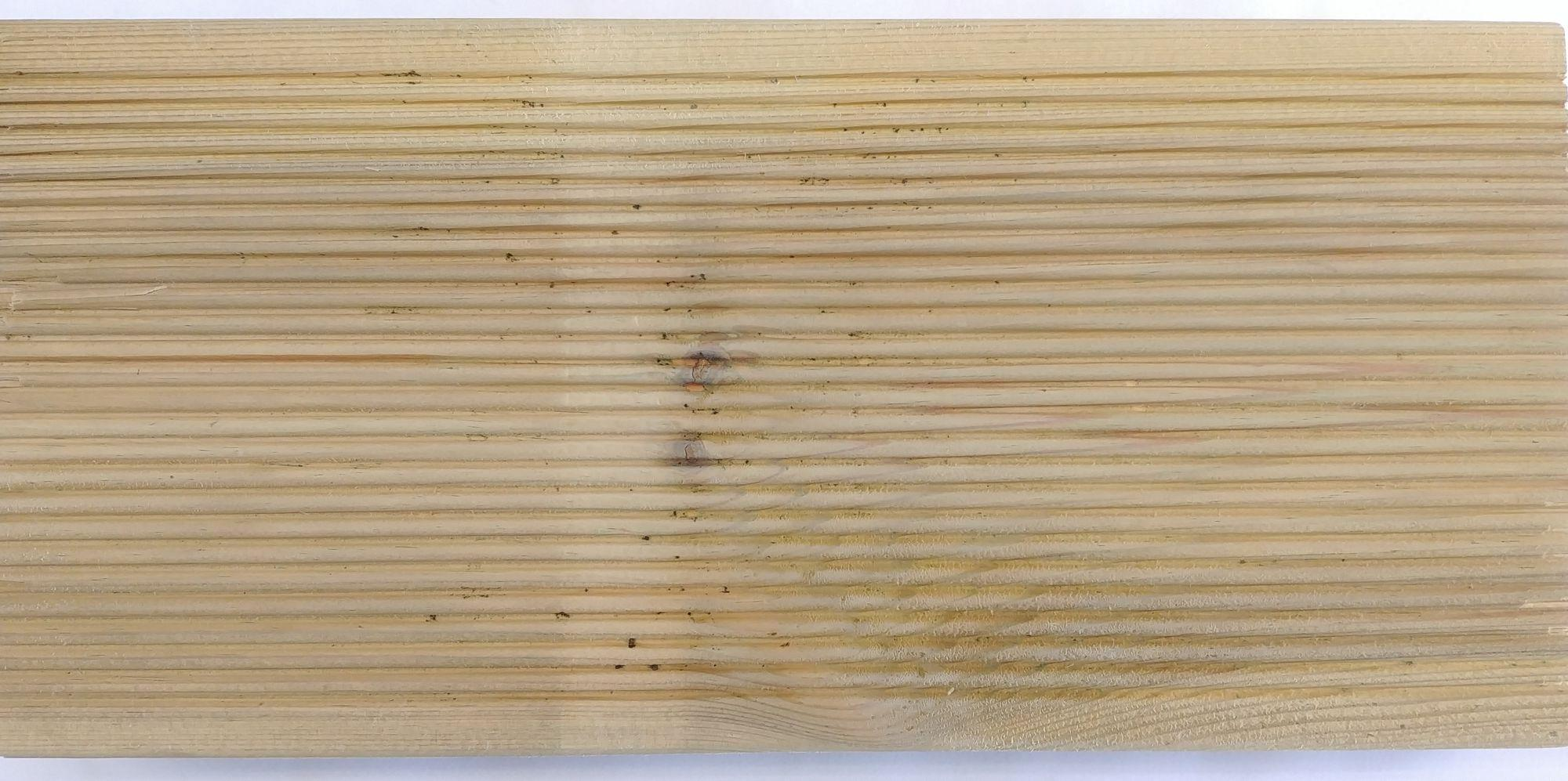 Pieza madera exterior pino tratado r4 145x45 4 metros - Madera de pino tratada ...